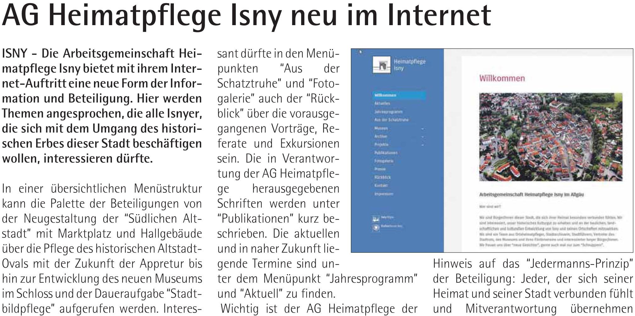 isny aktuell