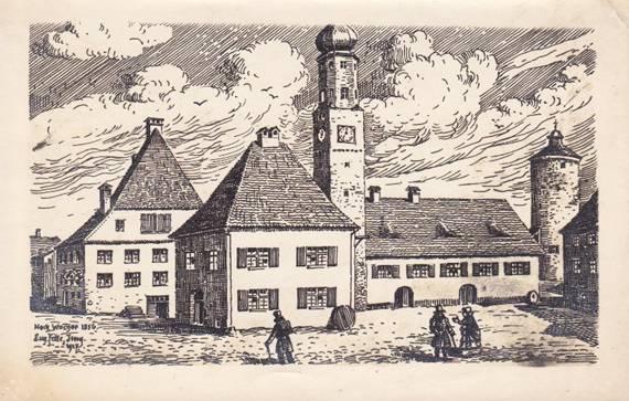 Postkarte von Eugen Felle